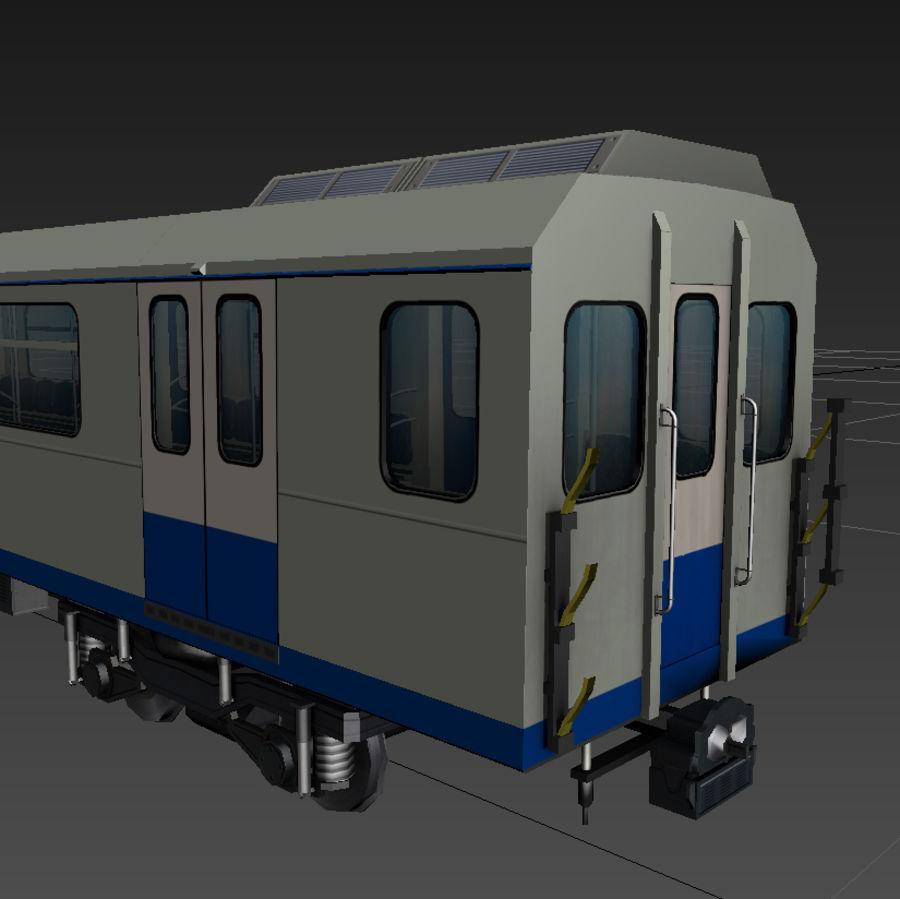 지하철 + 실내 royalty-free 3d model - Preview no. 6