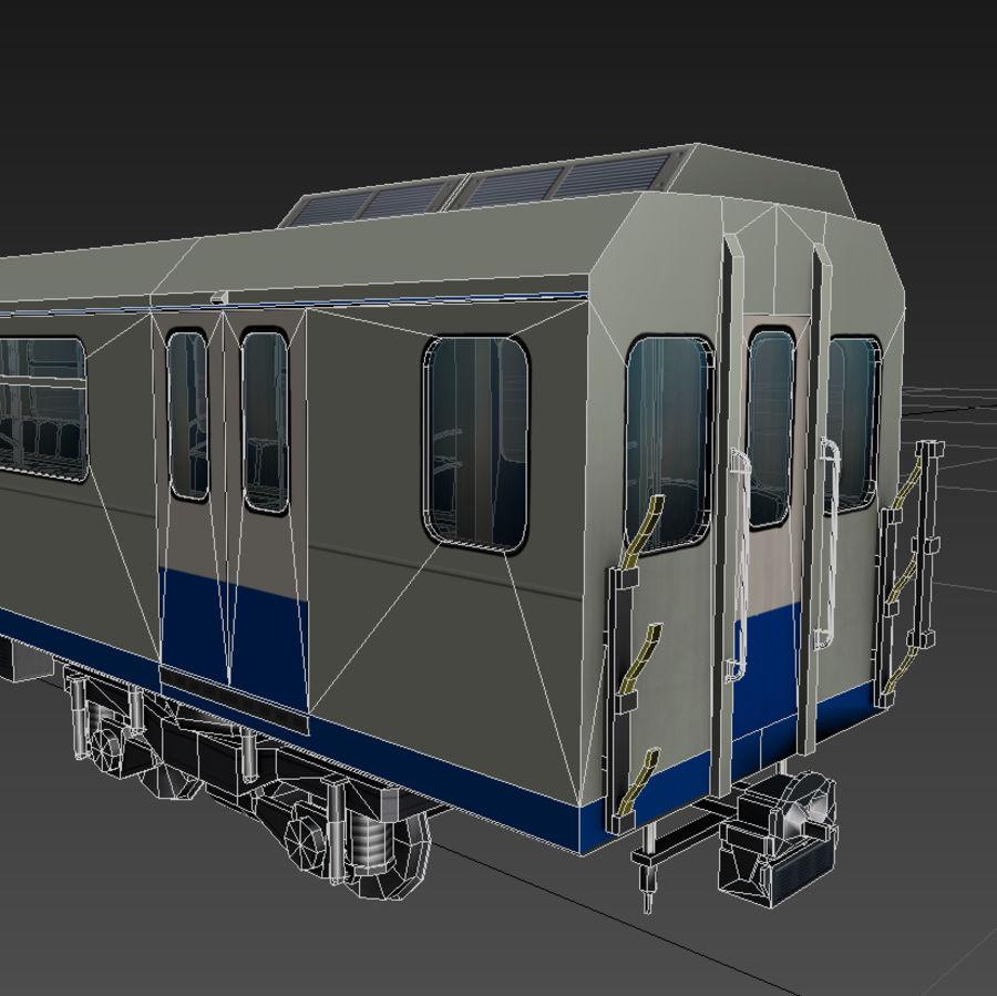 지하철 + 실내 royalty-free 3d model - Preview no. 7