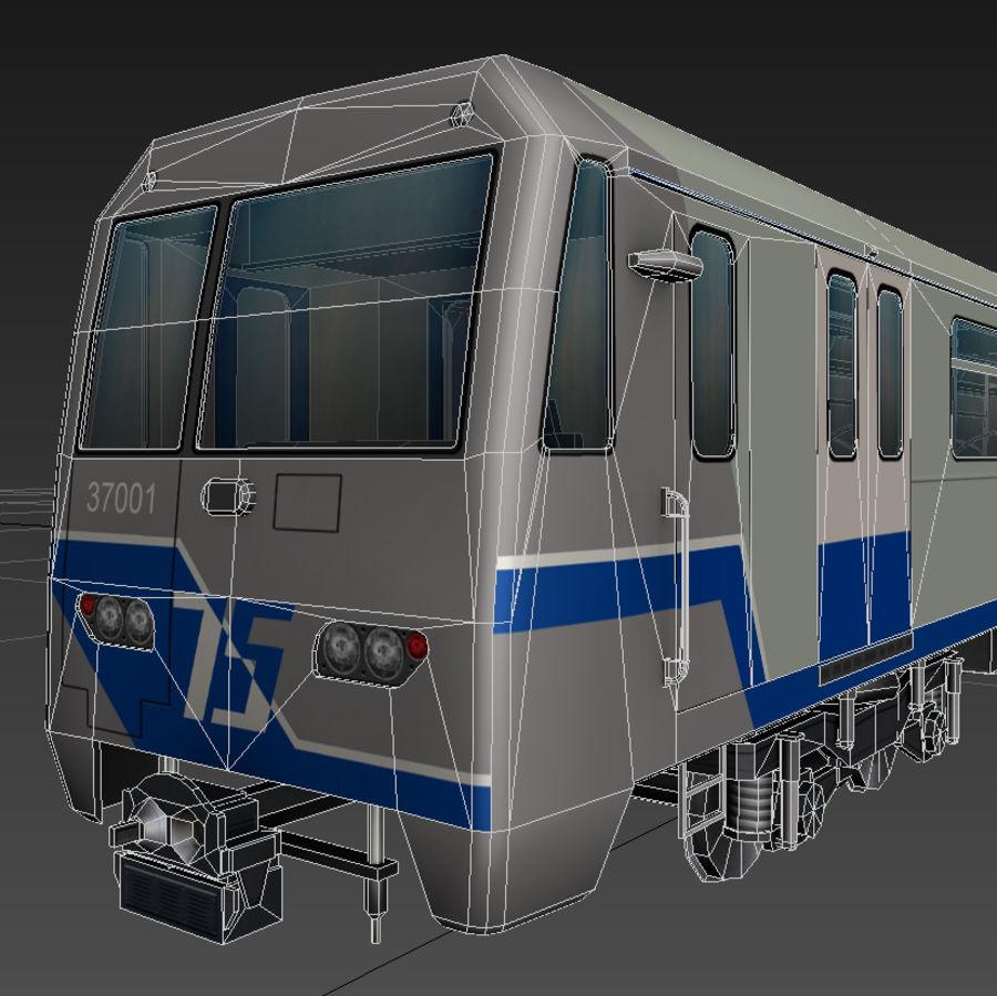지하철 + 실내 royalty-free 3d model - Preview no. 11
