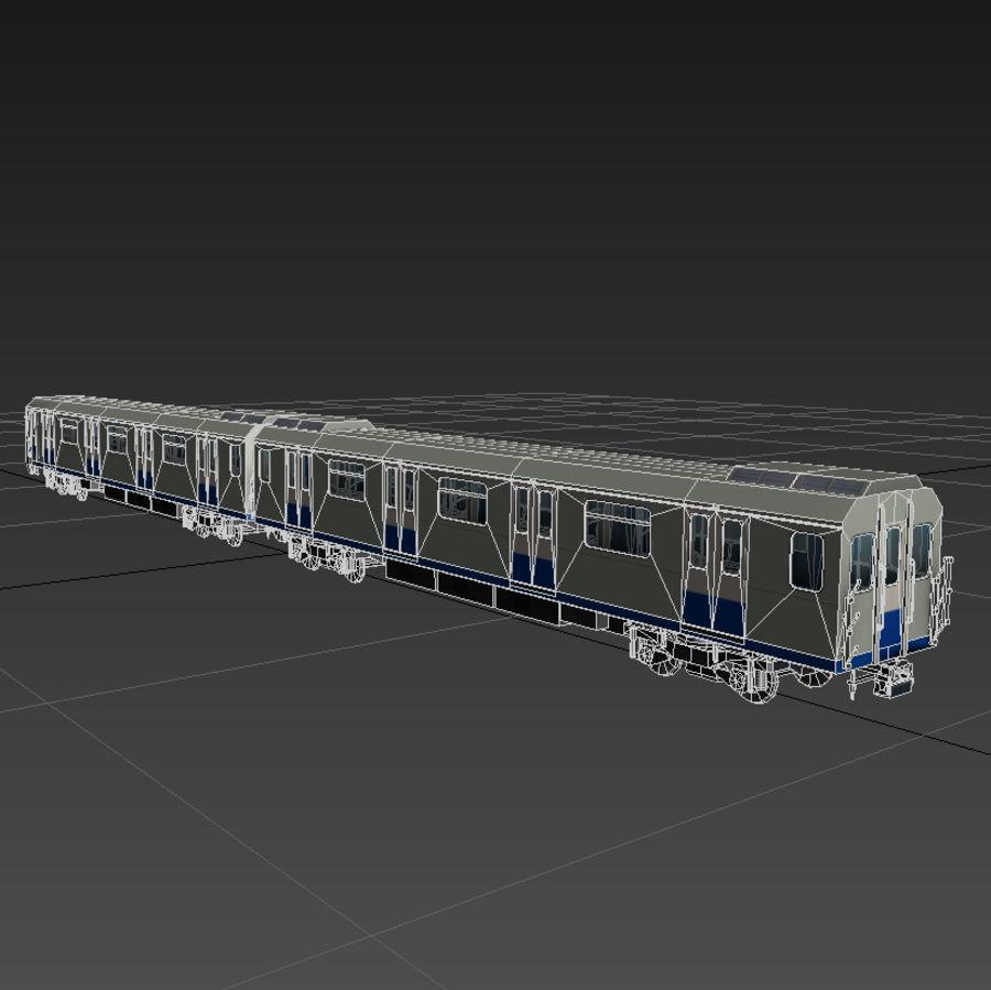 지하철 + 실내 royalty-free 3d model - Preview no. 5
