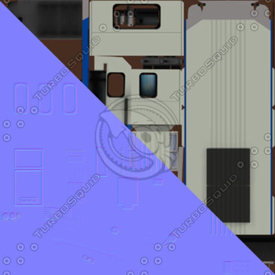 지하철 + 실내 royalty-free 3d model - Preview no. 16