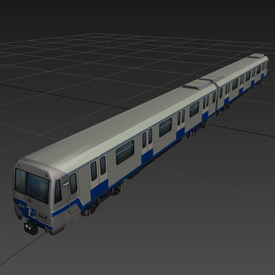 지하철 + 실내 royalty-free 3d model - Preview no. 12