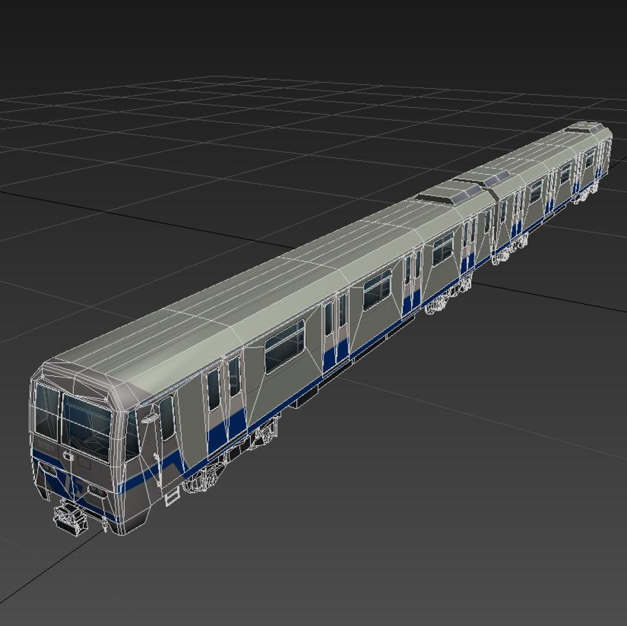 지하철 + 실내 royalty-free 3d model - Preview no. 13