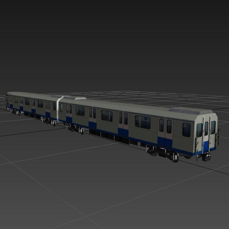 지하철 + 실내 royalty-free 3d model - Preview no. 4