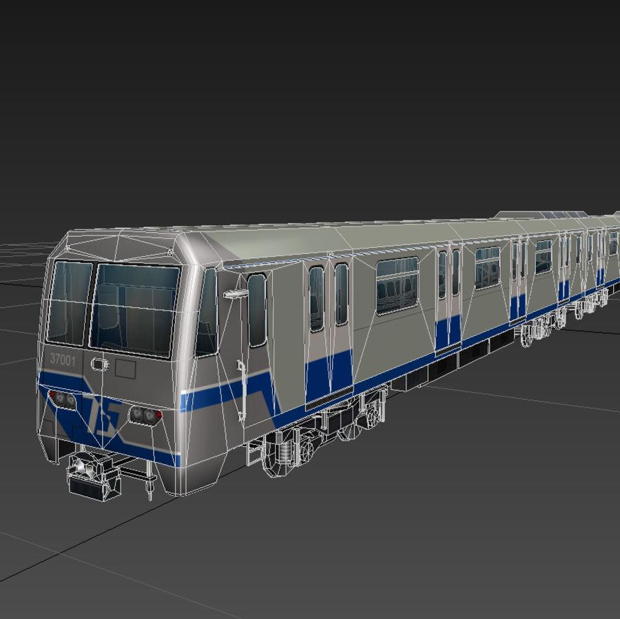 지하철 + 실내 royalty-free 3d model - Preview no. 3