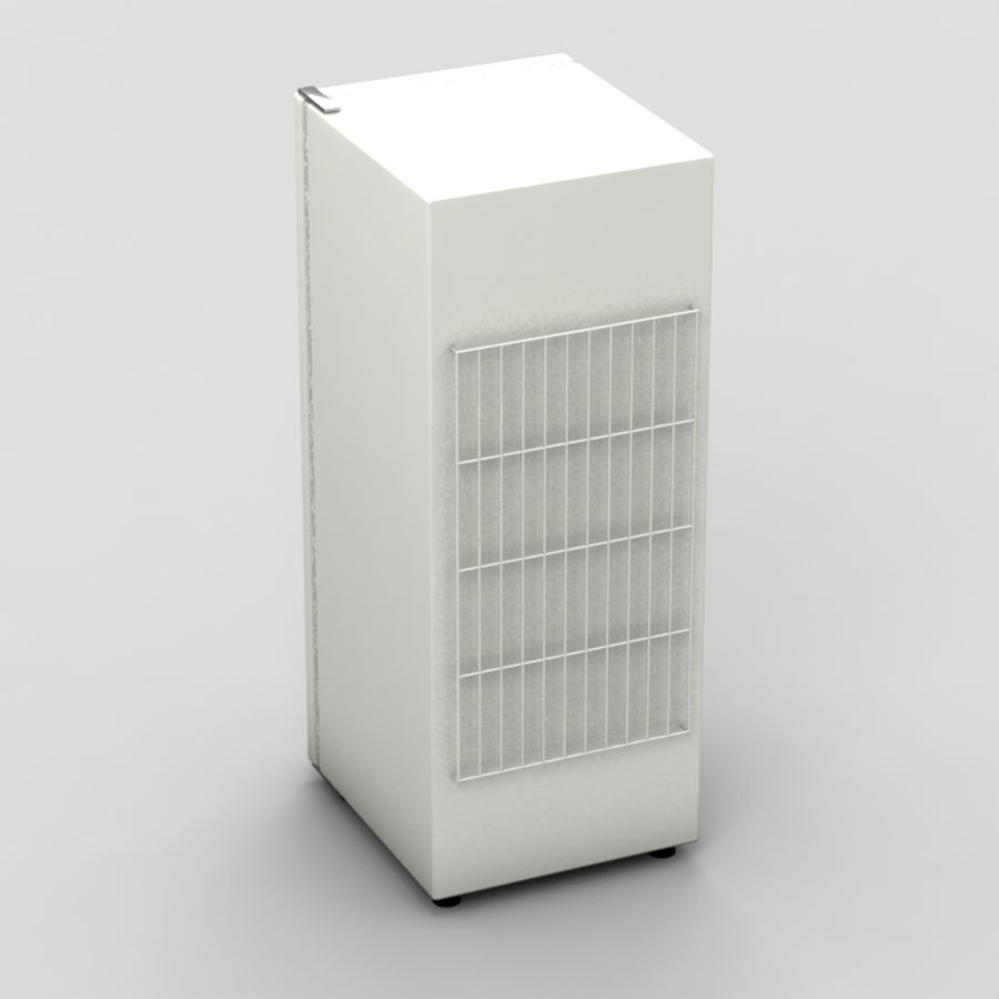 Old Fridge royalty-free 3d model - Preview no. 5