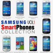 Samsung Smartphones Collection v1 3d model
