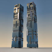 Skyscraper 004 3d model