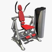 Fitnessstudio abs 3d model