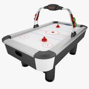 Air Hockey 01 3d model
