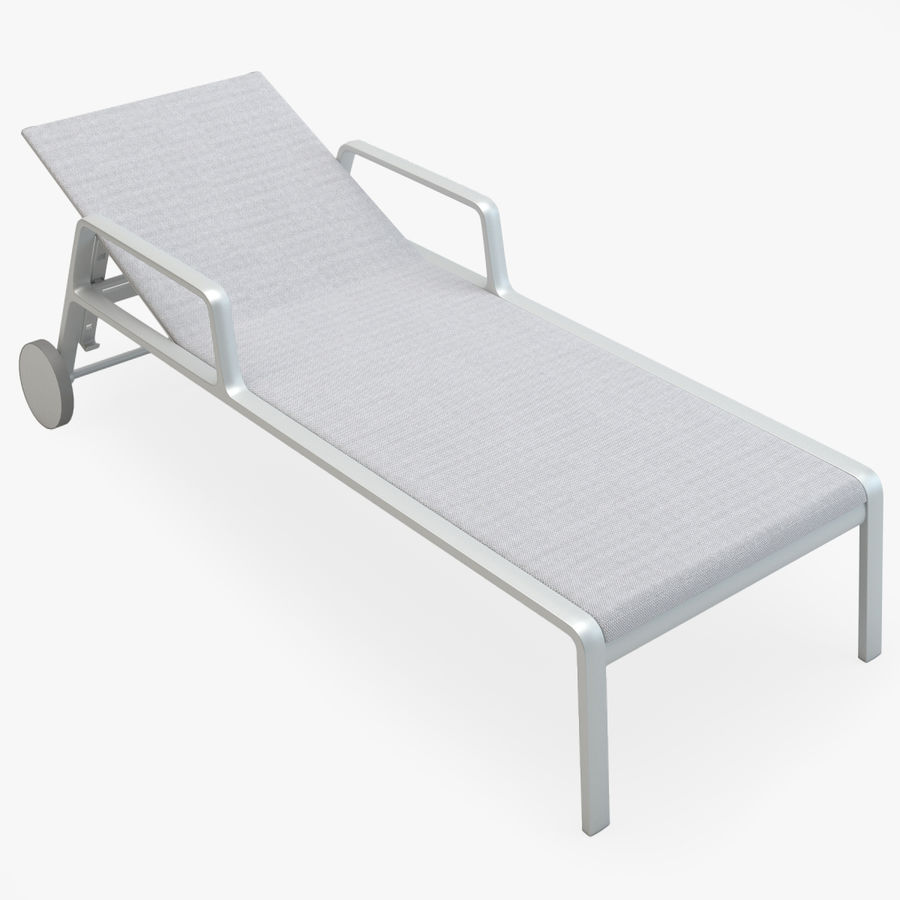 Park Life Deckchair royalty-free 3d model - Preview no. 1