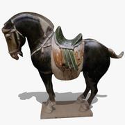 Horse Statuette (I) 3d model