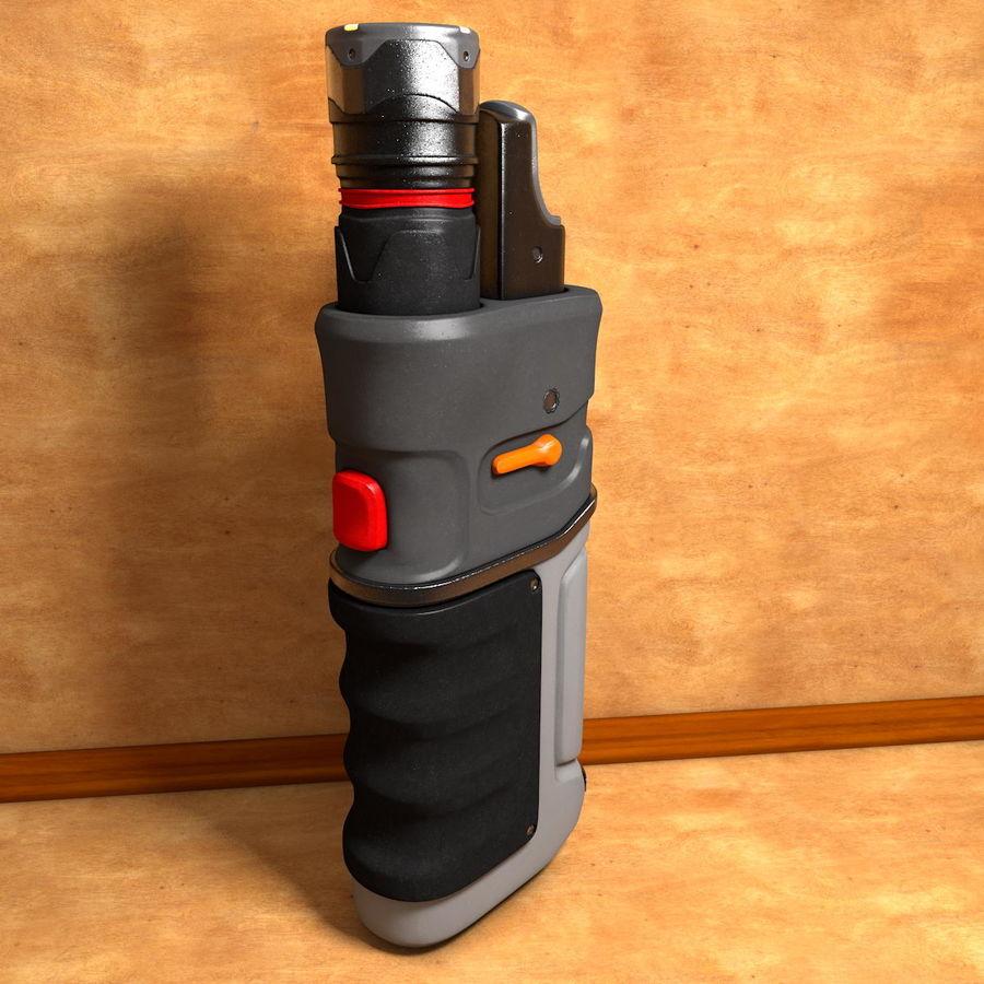 ハンドヘルド汎用電子機器 royalty-free 3d model - Preview no. 3
