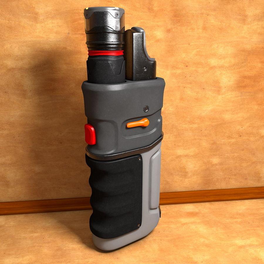 ハンドヘルド汎用電子機器 royalty-free 3d model - Preview no. 1