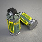 Grenade X 3d model