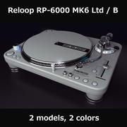 Turntable Reloop 6000 MK6 3d model