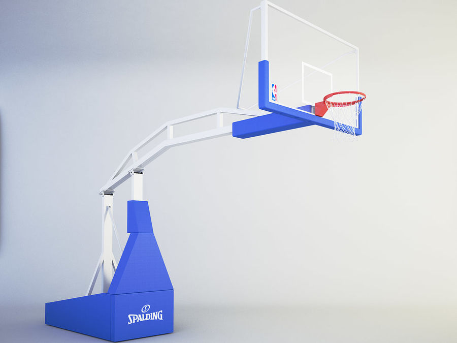 Basketball hoop royalty-free 3d model - Preview no. 2