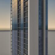 Skyscraper 008 3d model
