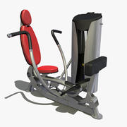 Gym Chest Press 3d model