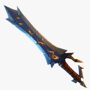 Sword Fantasy, el juego para móvil modelo 3d
