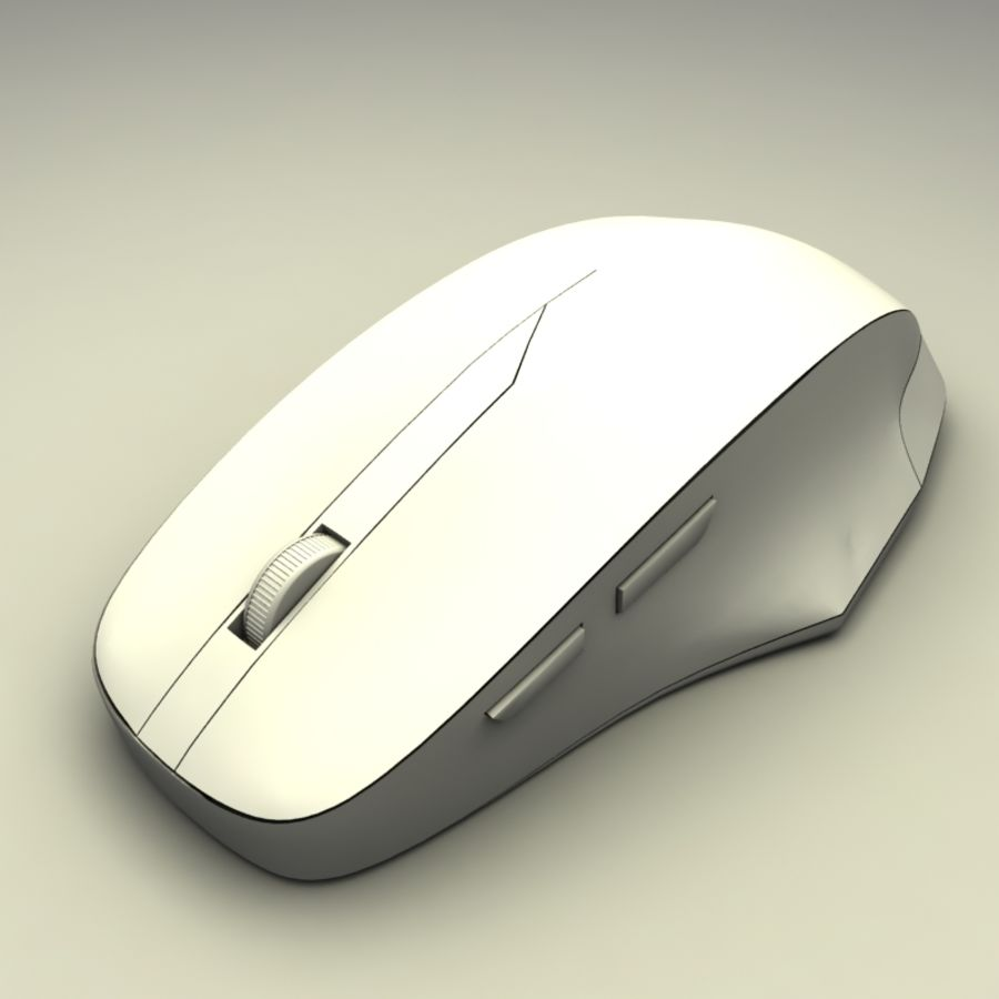 Mouse PC royalty-free 3d model - Preview no. 7