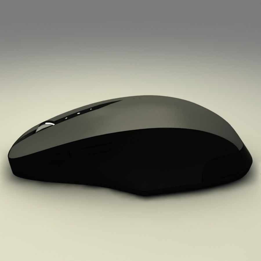 Mouse PC royalty-free 3d model - Preview no. 3