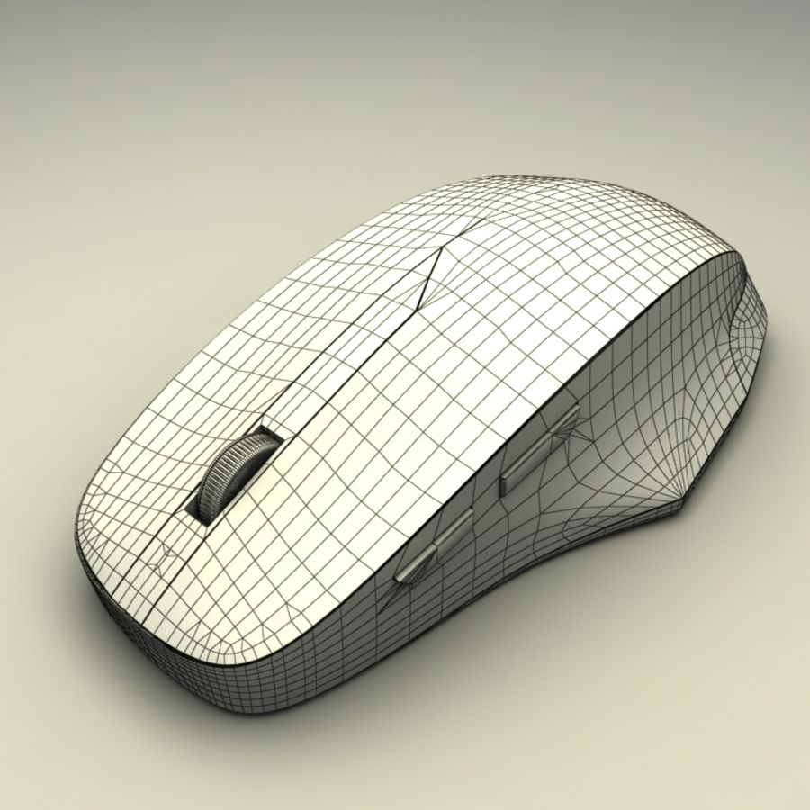 Mouse PC royalty-free 3d model - Preview no. 8