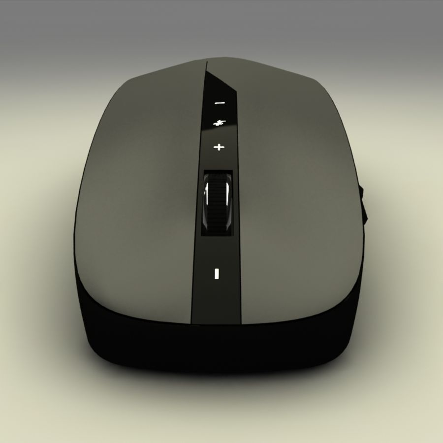 Mouse PC royalty-free 3d model - Preview no. 4