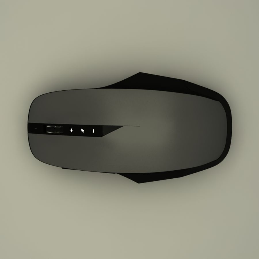 Mouse PC royalty-free 3d model - Preview no. 2
