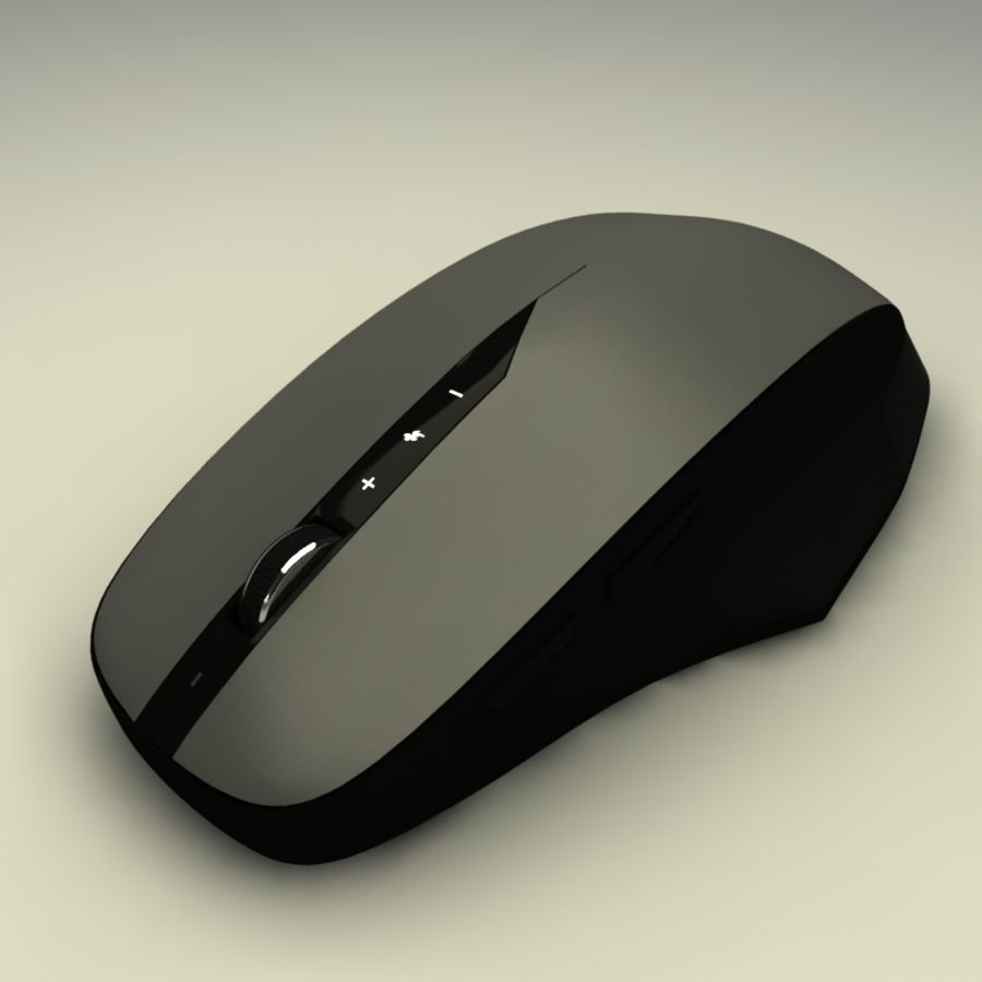 Mouse PC royalty-free 3d model - Preview no. 6