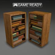 Étagère à livres 3d model