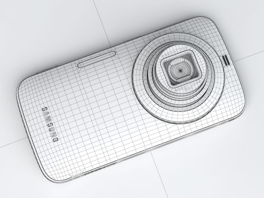 Samsung Galaxy K zoom royalty-free 3d model - Preview no. 26