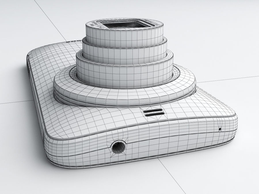 Samsung Galaxy K zoom royalty-free 3d model - Preview no. 24