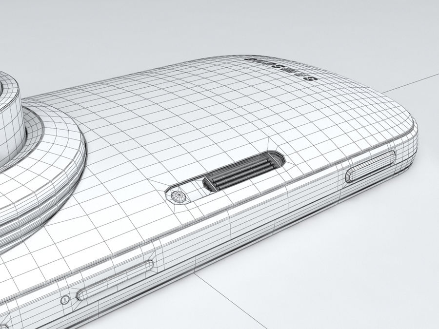 Samsung Galaxy K zoom royalty-free 3d model - Preview no. 30