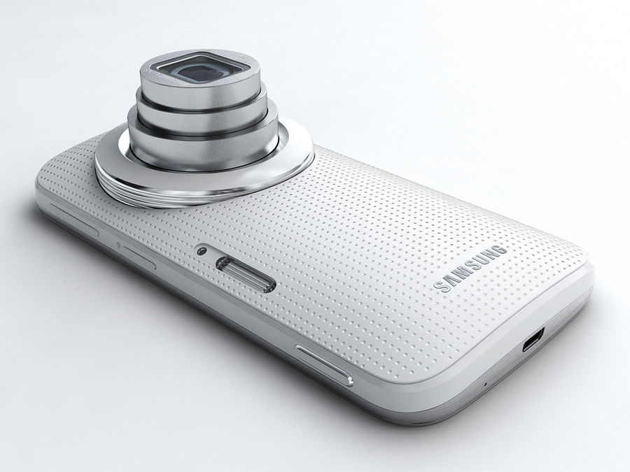 Samsung Galaxy K zoom royalty-free 3d model - Preview no. 4