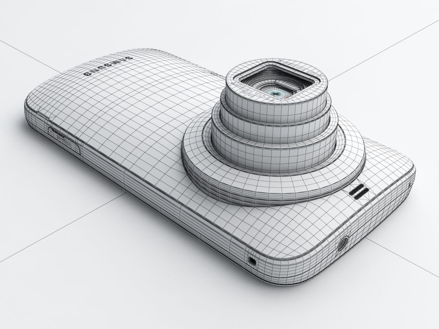 Samsung Galaxy K zoom royalty-free 3d model - Preview no. 22