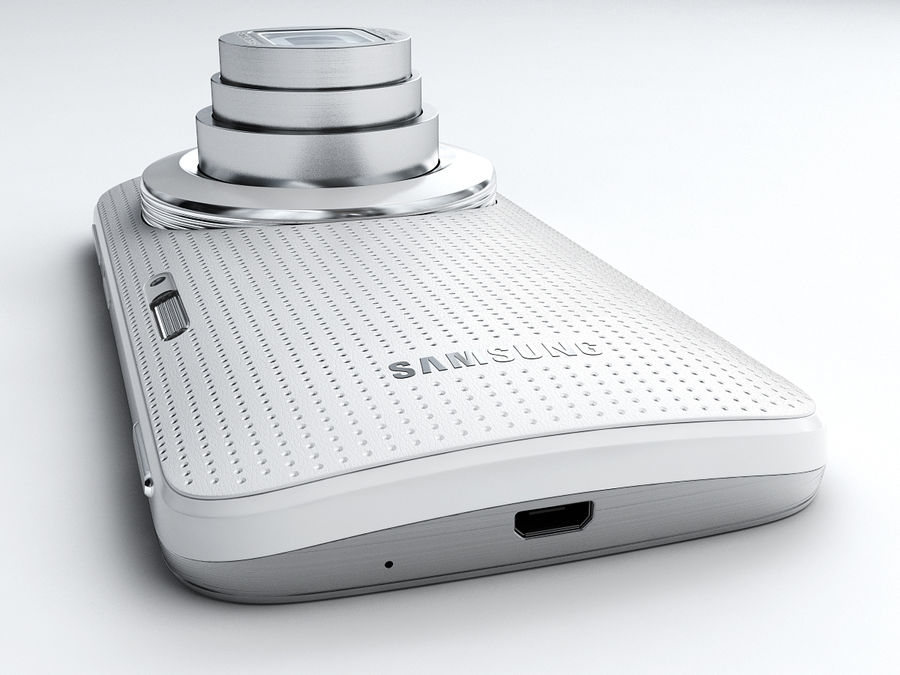 Samsung Galaxy K zoom royalty-free 3d model - Preview no. 6