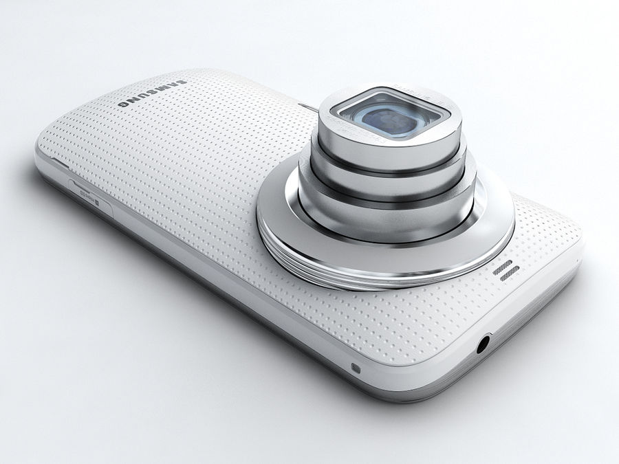 Samsung Galaxy K zoom royalty-free 3d model - Preview no. 3