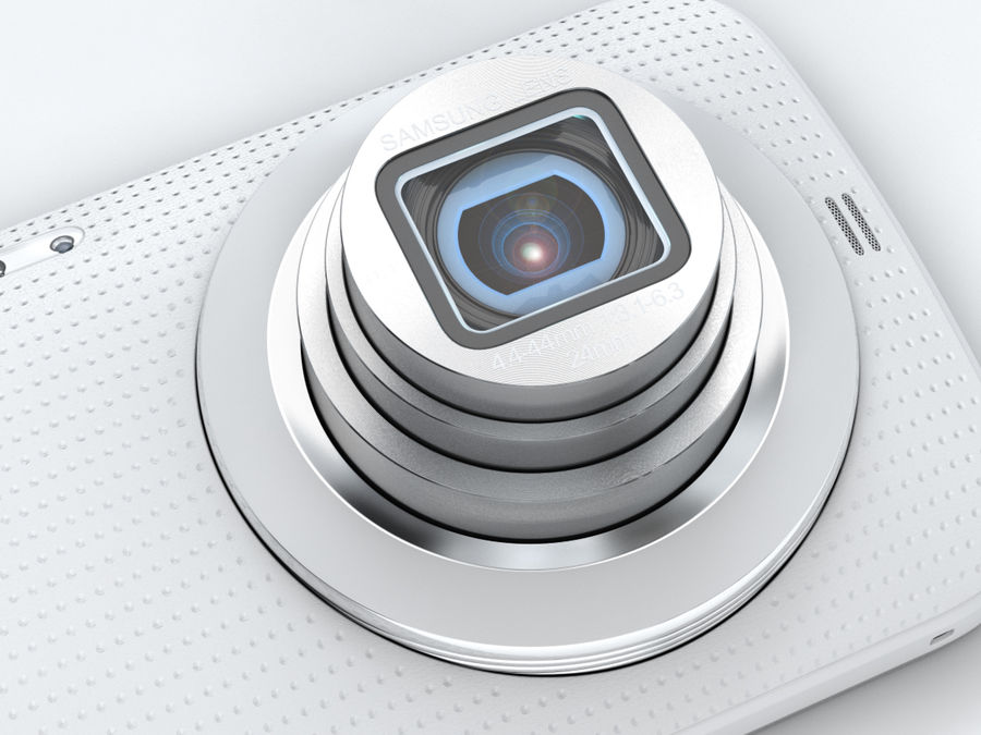 Samsung Galaxy K zoom royalty-free 3d model - Preview no. 11