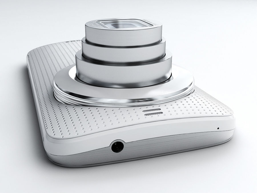 Samsung Galaxy K zoom royalty-free 3d model - Preview no. 5