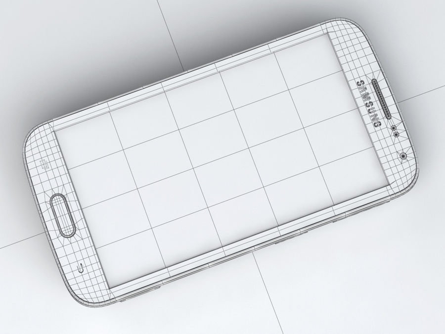 Samsung Galaxy K zoom royalty-free 3d model - Preview no. 25