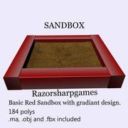 Caixa de areia 3d model