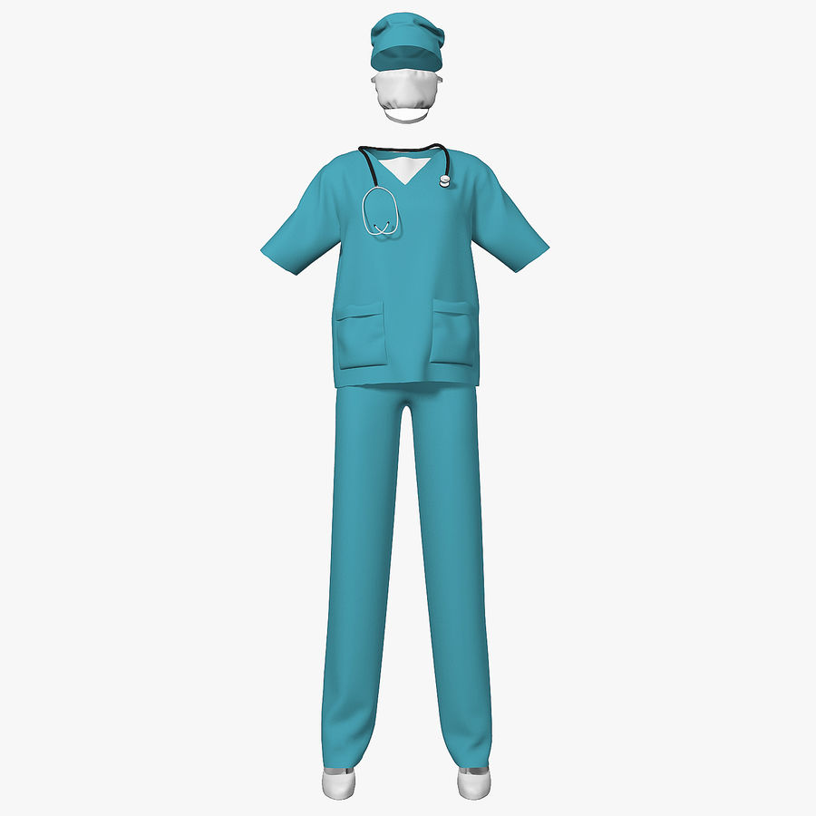 Clothes Doctor royalty-free 3d model - Preview no. 1