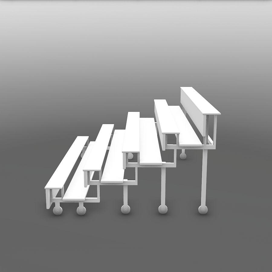 관람석 royalty-free 3d model - Preview no. 8