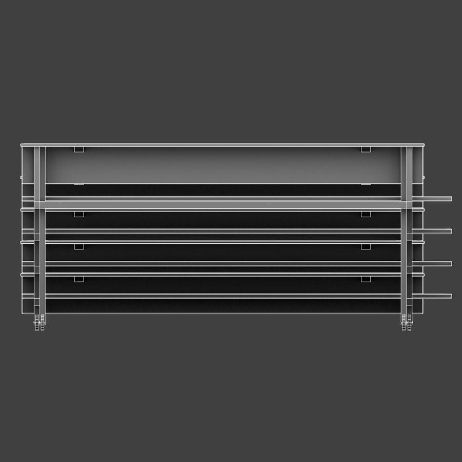 관람석 royalty-free 3d model - Preview no. 12