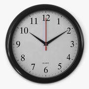 Office clock 3d model