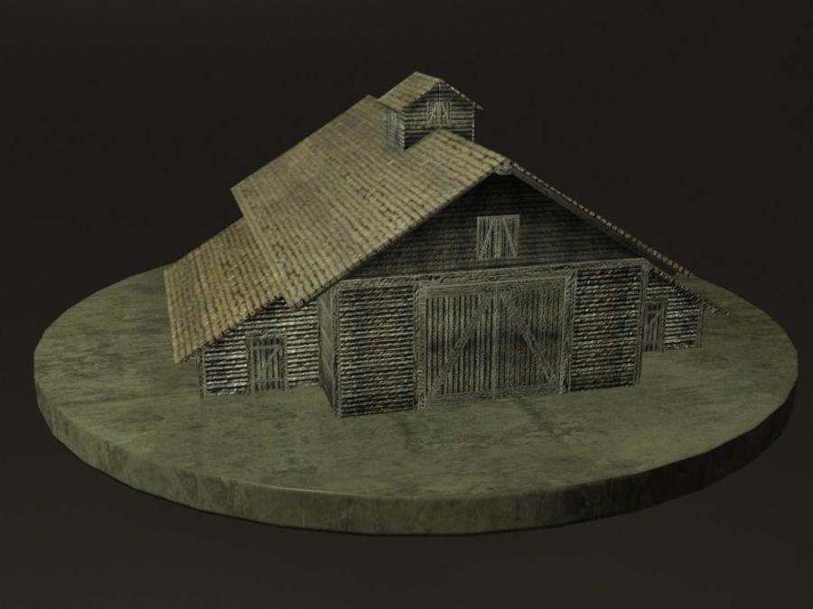 외양간 royalty-free 3d model - Preview no. 7