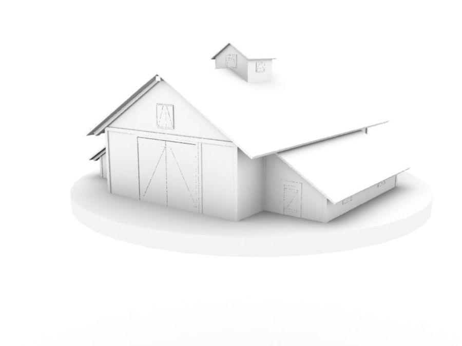 외양간 royalty-free 3d model - Preview no. 1