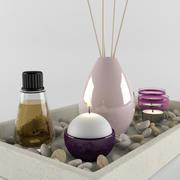 Bathroom Decorative Set 3d model