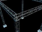 Full truss 3d model